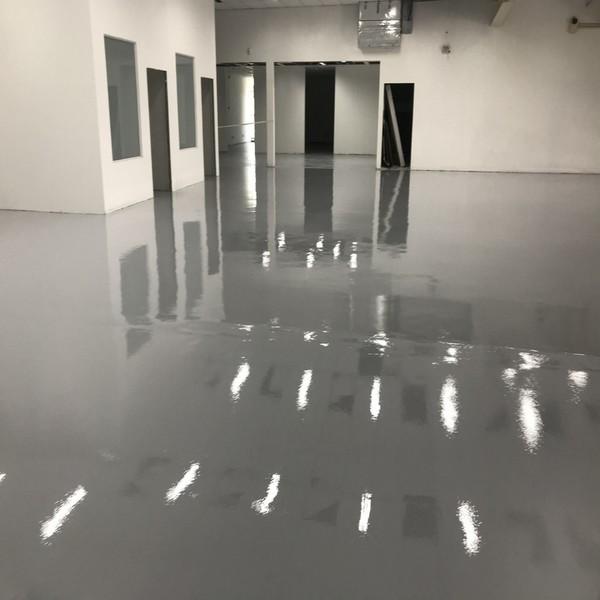 Pintura industrial piso epoxi