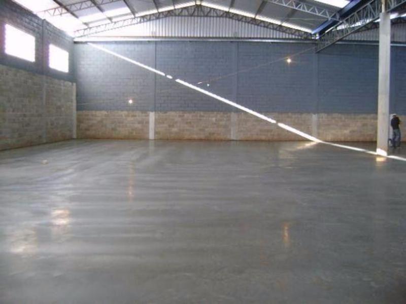 Piso industrial concreto polido