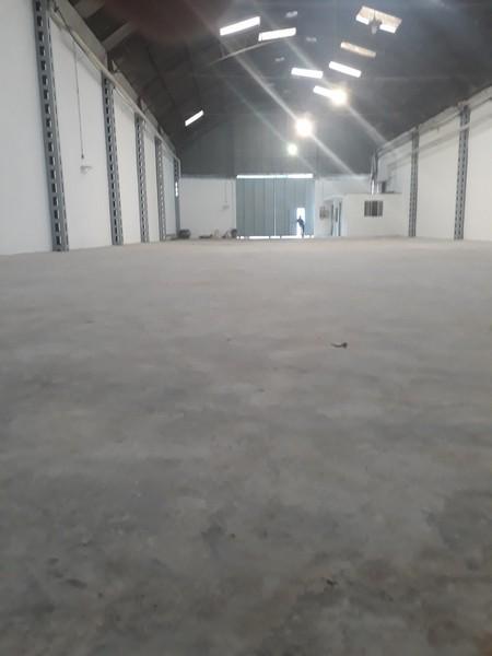 Recuperação de piso para galpão