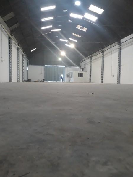 Recuperação de piso de industria