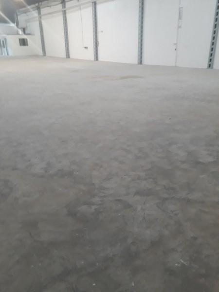 Recuperação de pisos industriais de concreto