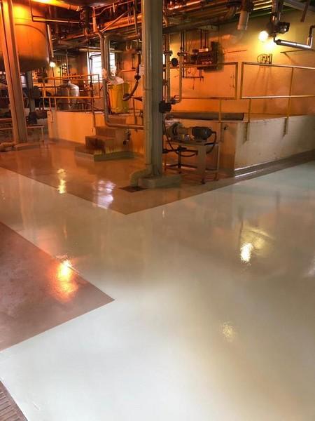 Revestimento epóxi piso de concreto