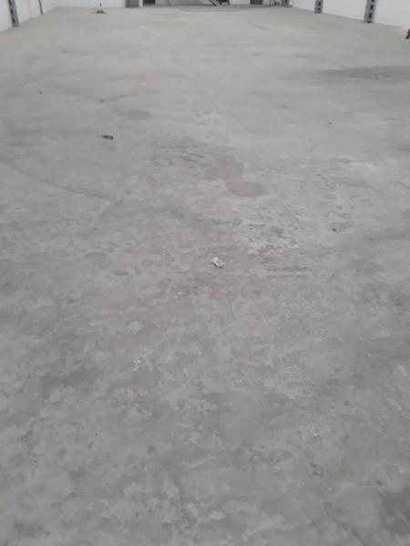 Revitalização de piso concreto