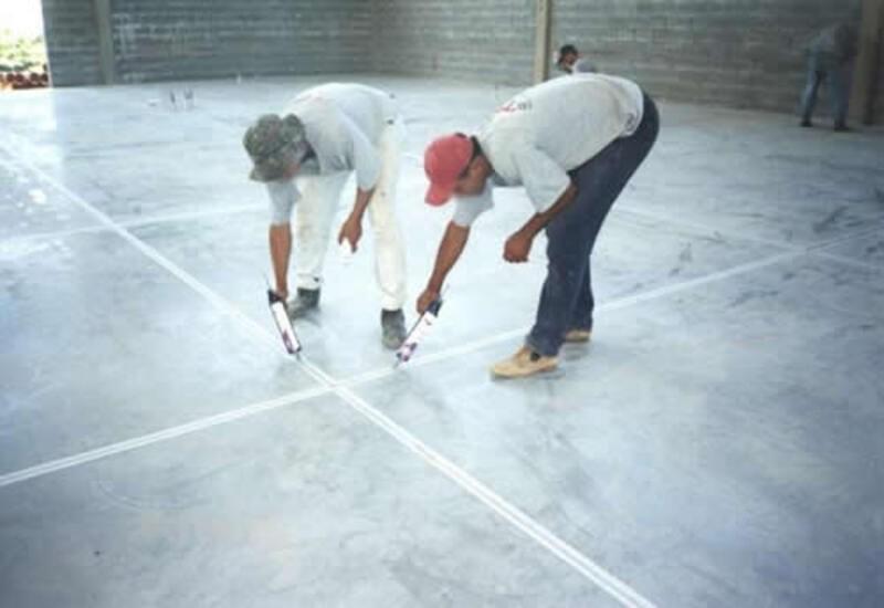 Revitalização de piso industrial