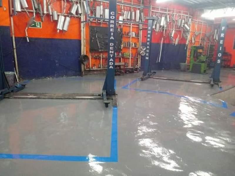 Serviço de pintura industrial