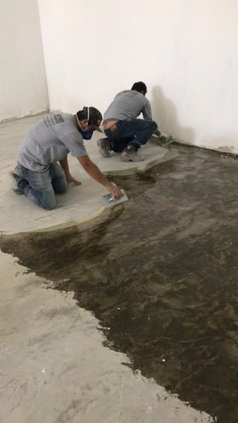Tratamento piso de concreto