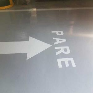 Demarcação de vagas de garagem em condominio