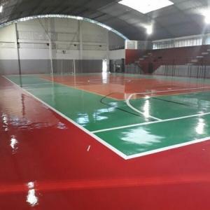 Orçamento para pintura de quadra poliesportiva