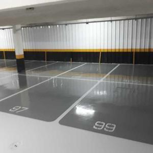 Pintura epoxi piso garagem